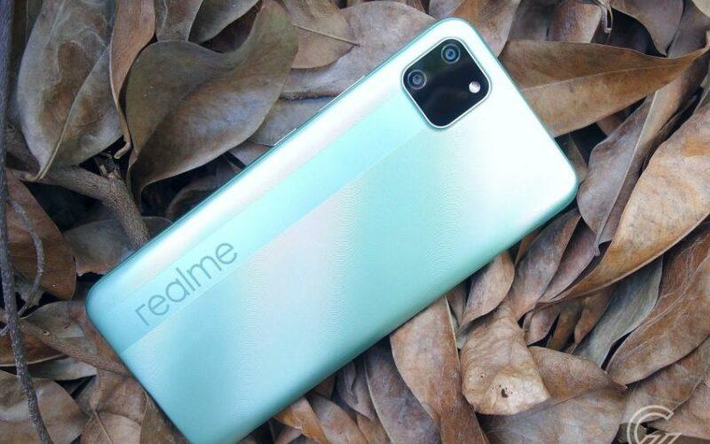 1. Realme C11, Salah Satu Rekomendasi Hp Untuk Pelajar Saat Wfh