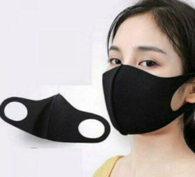 Masker Penutup Wajah Hitam