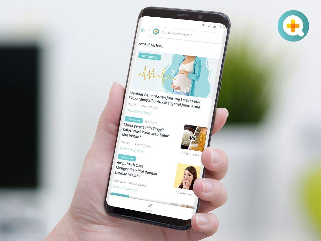 Upgrade Informasi Kesehatan dengan Membaca Berbagai Artikel kesehatan di SehatQ.com